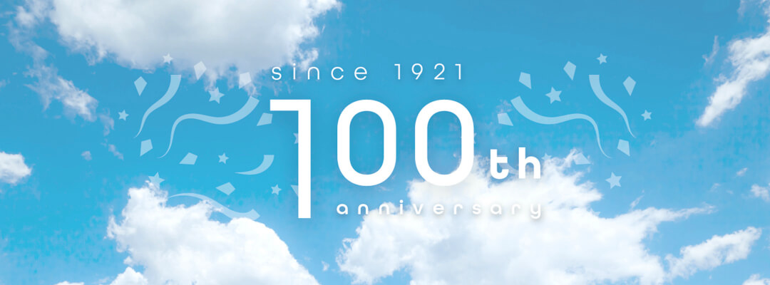 since 1921 100th anniversary